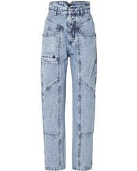Jeans boyfriend lavaggio acido azzurri