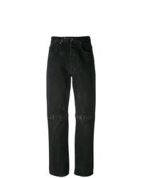 Jeans boyfriend neri di Christopher Kane