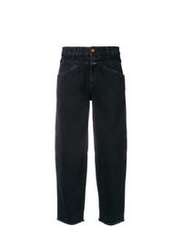 Jeans boyfriend neri di Closed