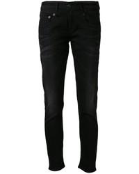 Jeans boyfriend neri di R 13