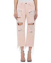 Jeans boyfriend rosa