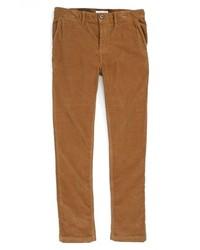 Jeans di velluto a coste marroni
