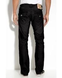 Jeans di velluto a coste neri