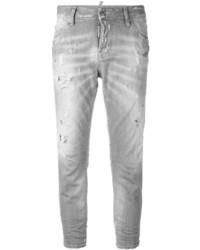 Jeans grigi di Dsquared2
