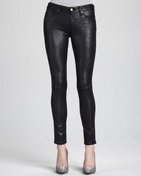 Jeans in pelle neri