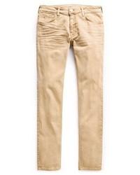 Jeans marrone chiaro