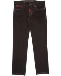 Jeans marrone scuro