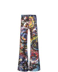 Jeans multicolori di Charles Jeffrey Loverboy