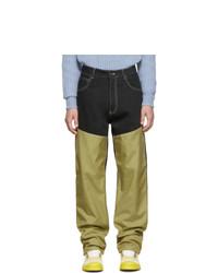 Jeans multicolori di Jacquemus