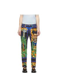 Jeans multicolori di Versace