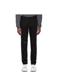 Jeans neri di Fendi