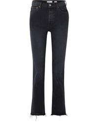 Jeans neri di RE/DONE