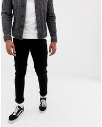 Jeans neri di Solid