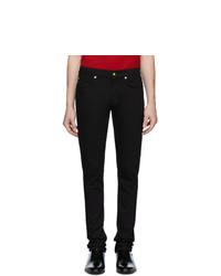 Jeans neri di Versace