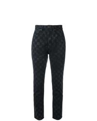 Jeans stampati neri di Marc Jacobs