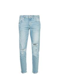 Jeans strappati azzurri di Agolde