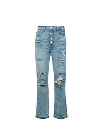 Jeans strappati azzurri di Amiri