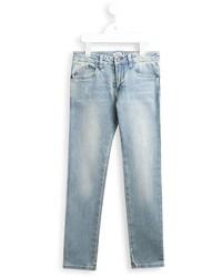 Jeans strappati azzurri di Armani Junior