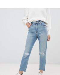 Jeans strappati azzurri di Asos Petite