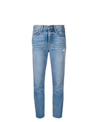 Jeans strappati azzurri di Grlfrnd
