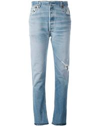 Jeans strappati azzurri di Levi's