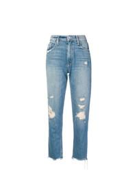 Jeans strappati azzurri di Mother