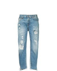 Jeans strappati azzurri di R13