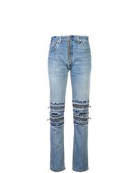 Jeans strappati azzurri di RE/DONE