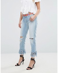 Jeans strappati azzurri di Replay