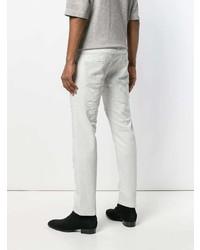 Jeans strappati bianchi di Diesel Black Gold