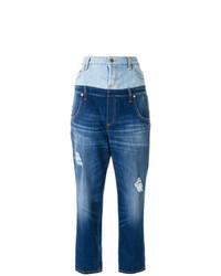 Jeans strappati blu di Dondup