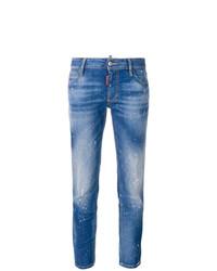 Jeans strappati blu di Dsquared2