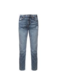 Jeans strappati blu di Grlfrnd