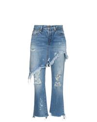 Jeans strappati blu di R13