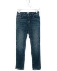 Jeans strappati foglia di tè di Armani Junior