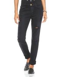 Jeans strappati neri