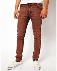 Jeans terracotta
