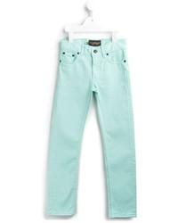 Jeans verde menta