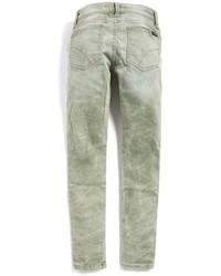 Jeans verde oliva