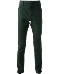 Jeans verde scuro