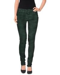 Jeans verde scuro