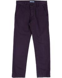 Jeans viola melanzana