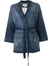 Kimono di jeans blu di Current/Elliott