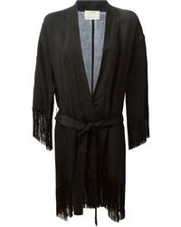 Kimono nero di Forte Forte