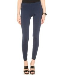 Leggings blu scuro