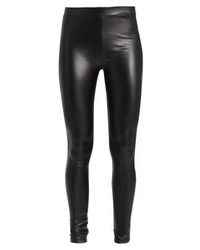 Leggings in pelle neri di Jdy