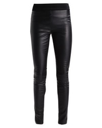 Leggings in pelle neri di Vero Moda
