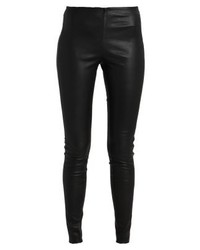 Leggings in pelle neri di YAS Tall