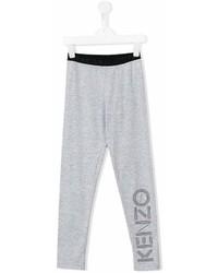 Leggings stampati grigi di Kenzo
