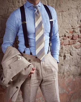 Regno Unito vendita usa online disponibile Come indossare e abbinare bretelle (120 foto) | Moda uomo ...